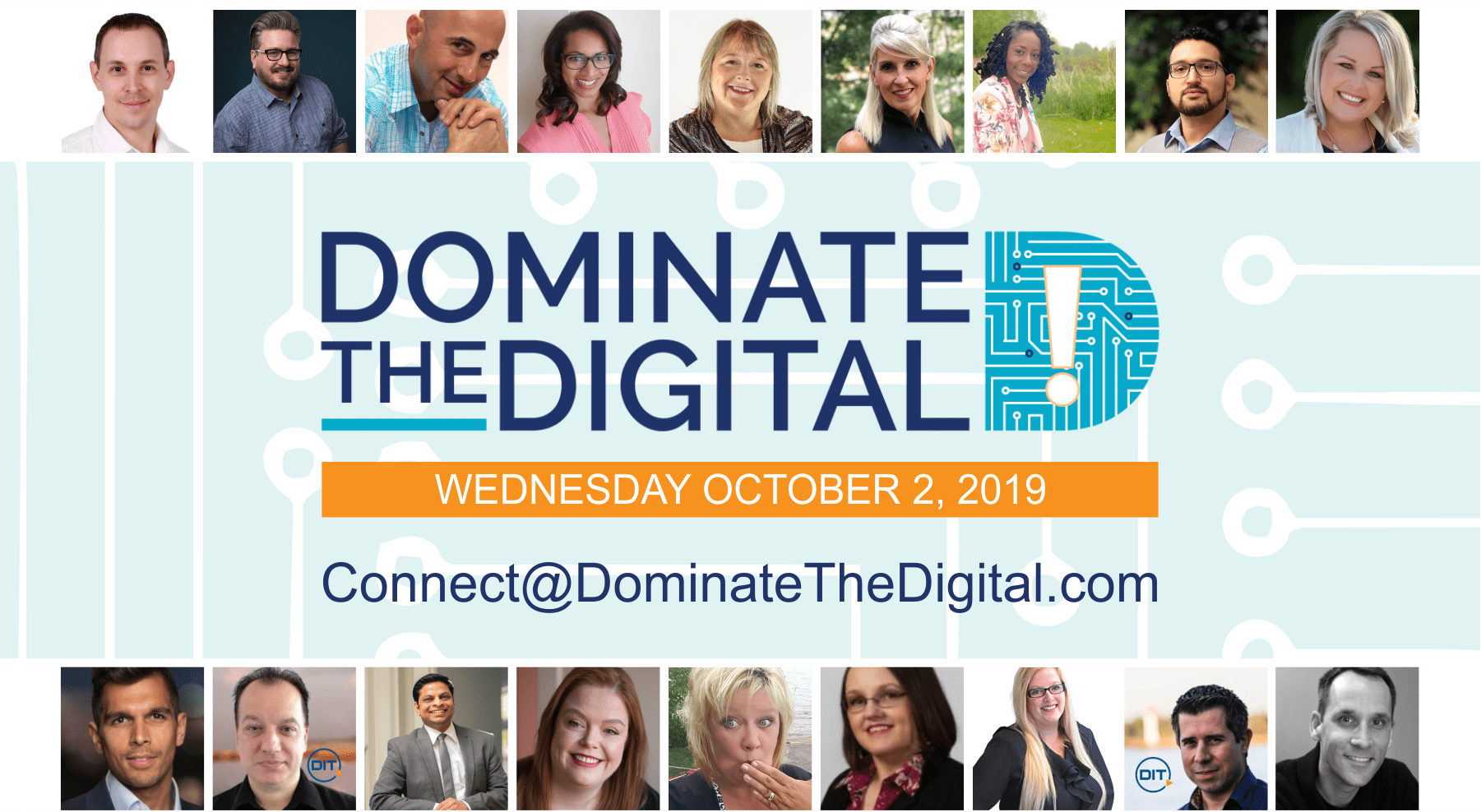 Dominate The Digital Postcard